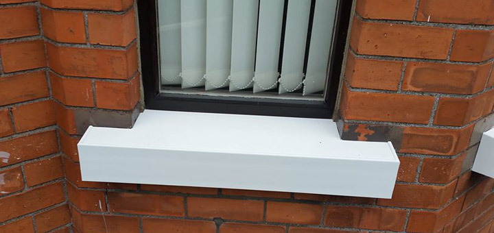 Pvc cover sills hhi for Repairing concrete window sills exterior
